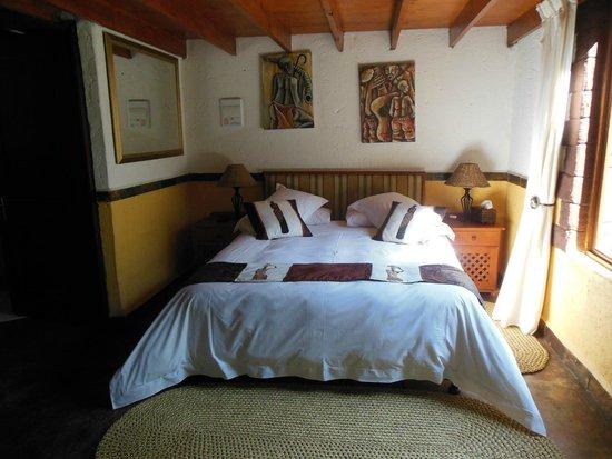 Grand Kruger Lodge: The bed