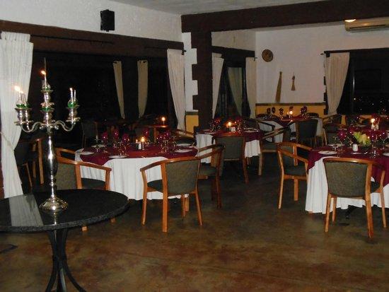 Grand Kruger Lodge: Restaurant