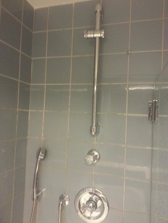 Clarion Hotel Tyholmen: where to hang the shower??