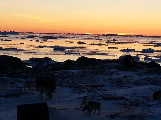 กรีนแลนด์: Ilullisat tramonto da Artic hotel