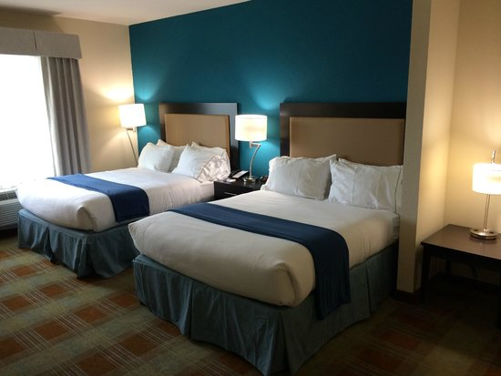 SpringHill Suites Houston Brookhollow: Nice Blue Color