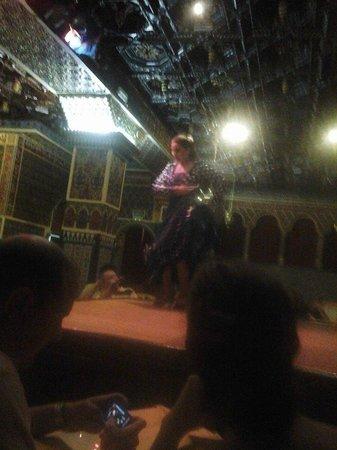 Torres Bermejas : Dança flamenca