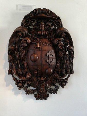 Salzburg Museum : stemma di uno dei principi vescovi