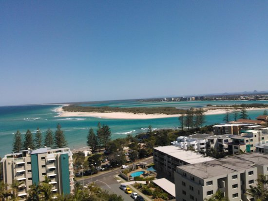 Aspect Caloundra: View from the apartment