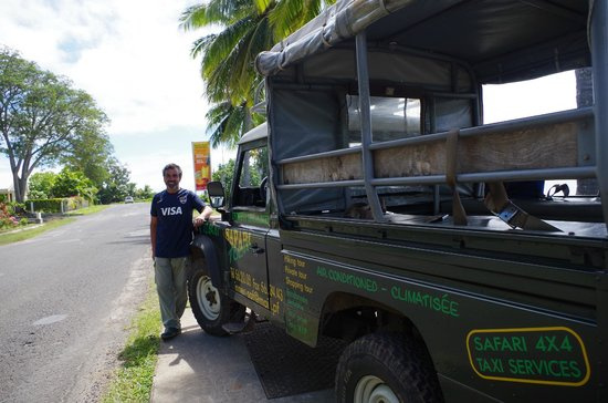 Jus de Fruits de Moorea: El vehiculo 4x4