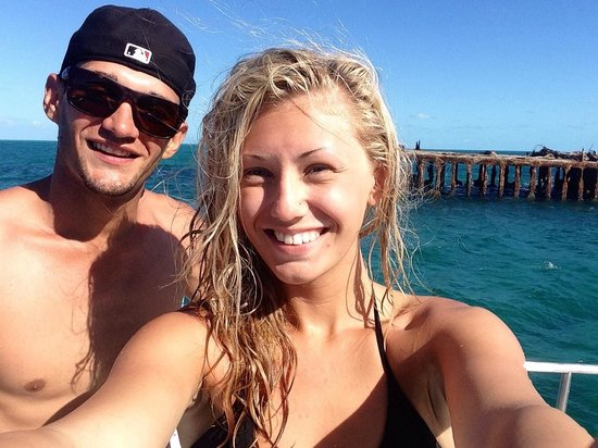 Bimini Big Game Club Resort & Marina: At the shipwreck!!! Thanks for the experience Big Game!