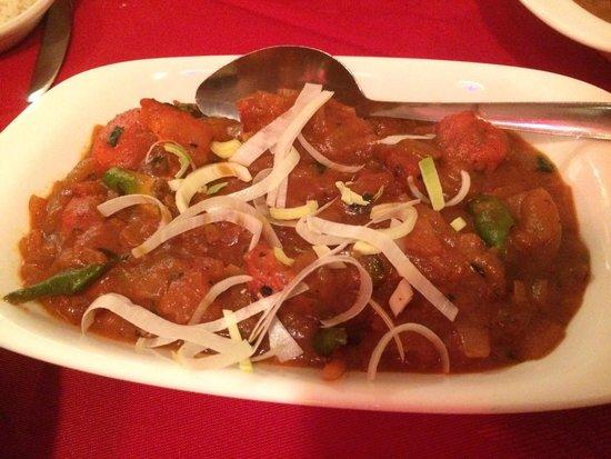 Lal Qila Indian Restaurant: Chicken chili msala