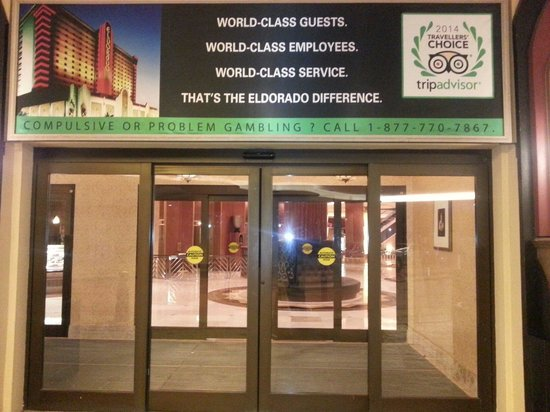 Eldorado Resort Casino: The entrance to excitement.