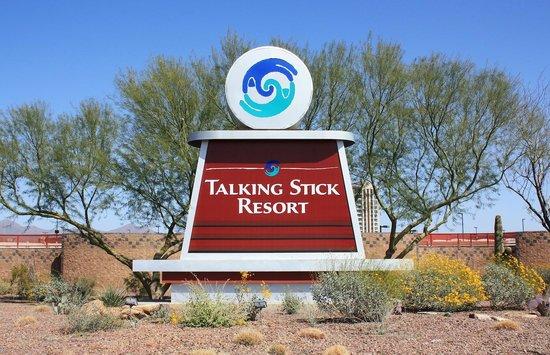Signage Picture Of Talking Stick Resort Casino