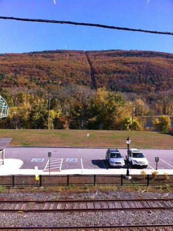 Brattleboro Museum and Art Center : View from the museum
