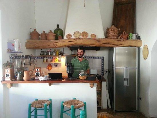 Hosteria Villa Cardon: breakfast room