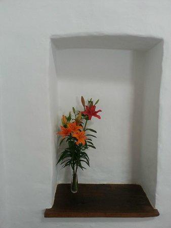 Hosteria Villa Cardon: fresh flowers