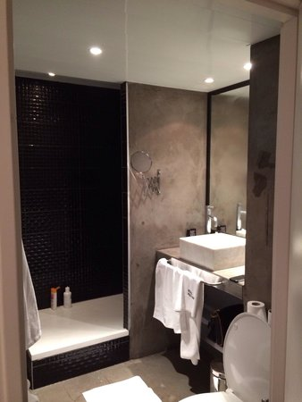 Hotel Pulitzer: Salle de bain