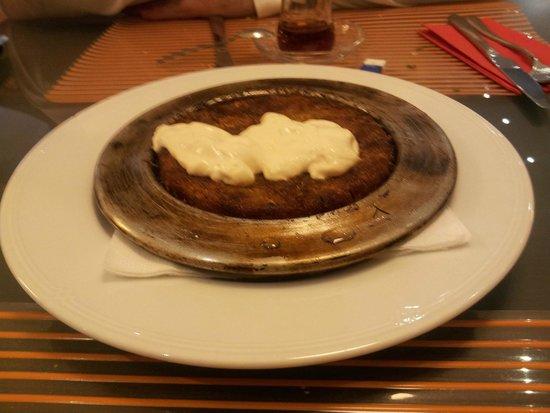Istanbul Restaurant: Lovely sweet dessert