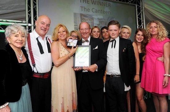 The Canteen: Award Winning!