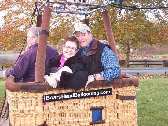 Boar's Head Ballooning - Private Flights: So happy!
