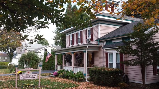 Blushing Rose Bed and Breakfast : The Blushing Rose B&B