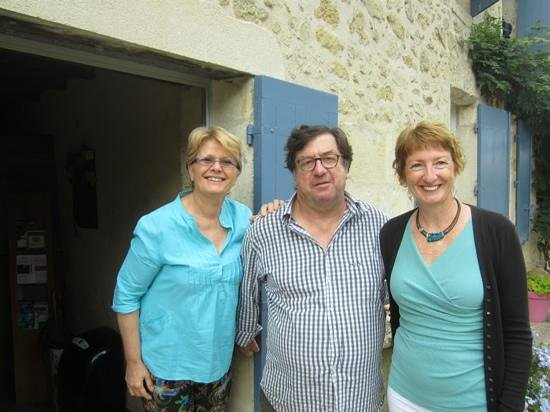 Chateau de Crecy : FiveStar with our wonderful hosts