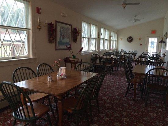 Black Horse Inn : Breakfast room