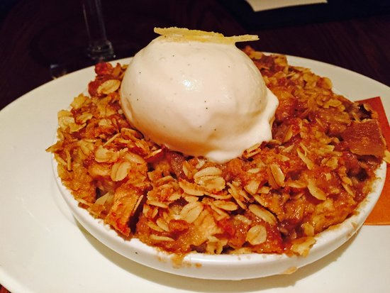 Post 390 : Apple crumble