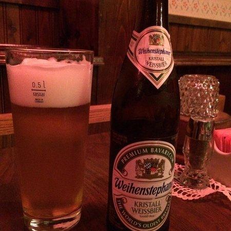 Friedhelms Bavarian Restaurant: Delicious German beers!
