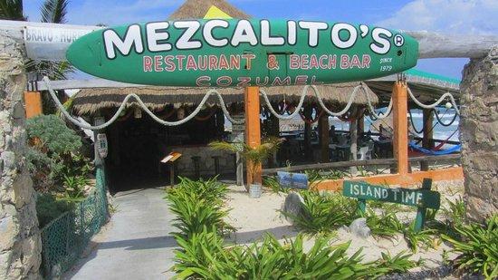 Mezcalitos Restaurant & Beach Bar Cozumel: Nice place