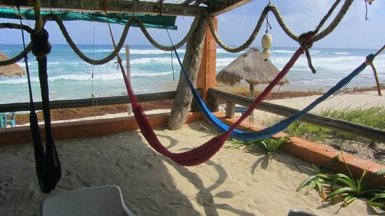 Mezcalitos Restaurant & Beach Bar Cozumel: Relaxing place