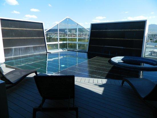 Hotel Real Alameda: piscine sur la terrasse du 7e