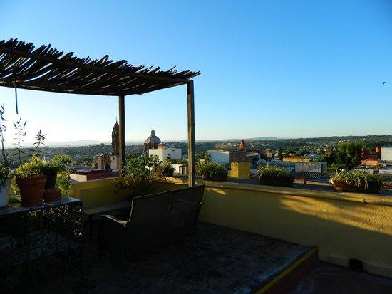 كاسا ميا سويتس: terrasse
