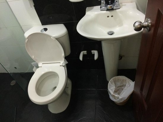 Hotel Marina Suites : bathroom disgusting, no hot water