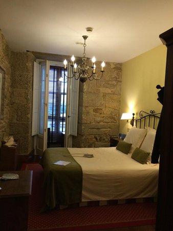 Hotel Virxe da Cerca: Room 004 - balcony