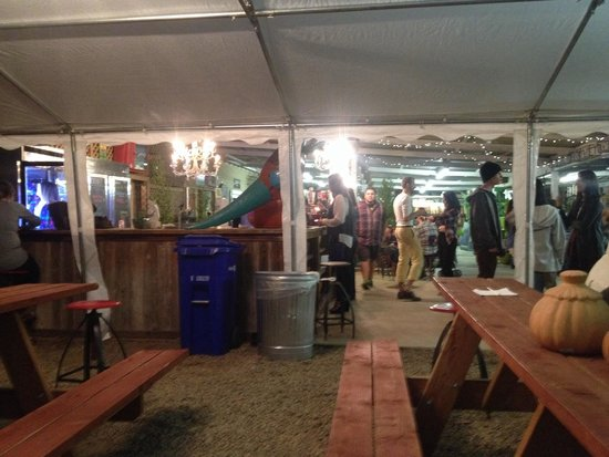 Gazebo Beer Garden