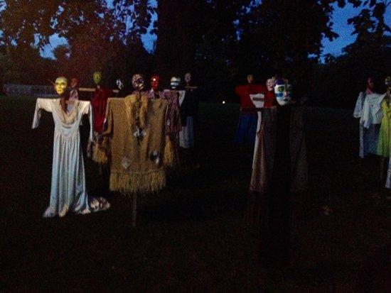 Lyndhurst: Scarecrows
