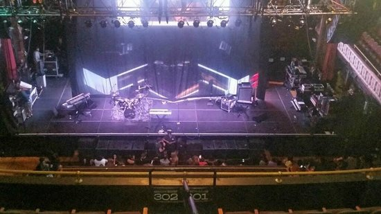 The Tabernacle View Of Stage