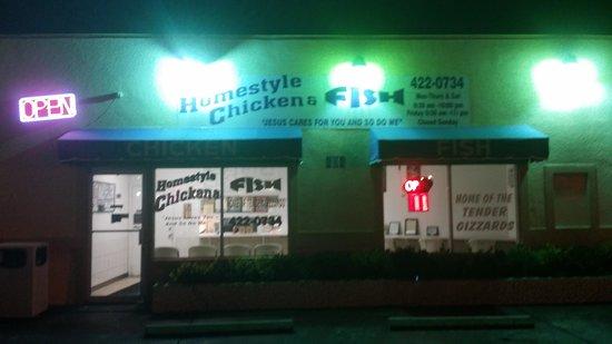 Homestyle Chicken N Fish