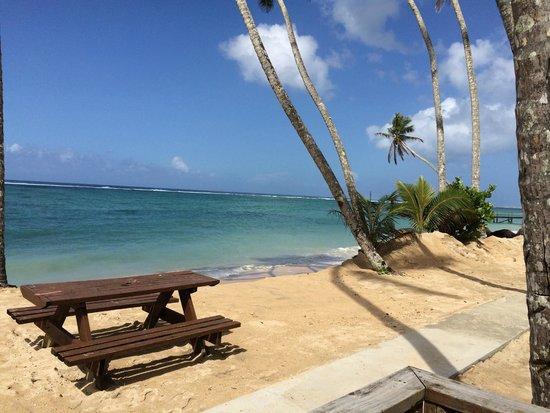 Samoa Hideaway Beach: .
