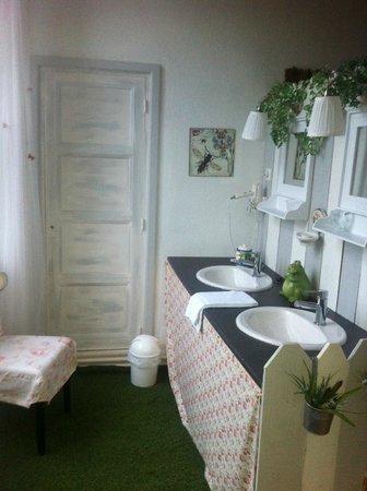 Chateau de Matel : Salle de bains