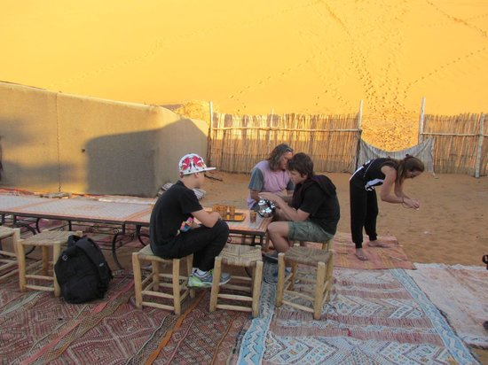 Yasmina Hotel Merzouga: Yasmina desert camp