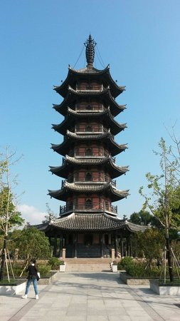 Longshan Park of Rui'an: Pagode