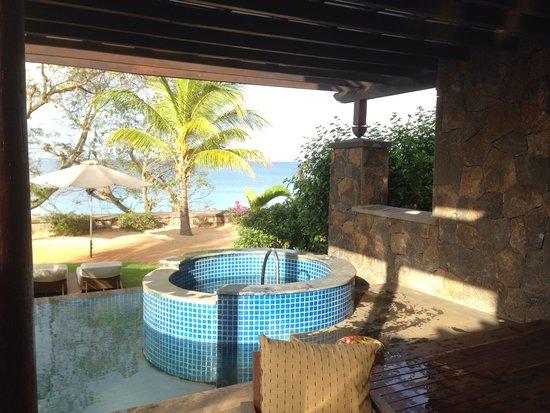 Angsana Balaclava Mauritius : Terrasse privée