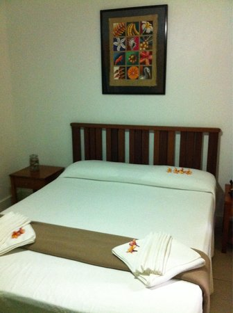Rabosea Bed & Breakfast : Comfortable bed but shared bathroom