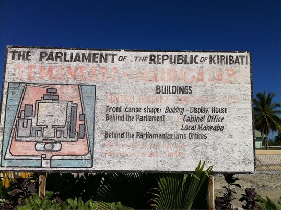 Parliament Building: Sign at the entrance
