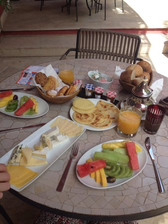 The Pearl Marrakech : Just a small selection for breakfast!