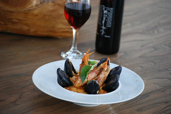 D'Angelo Mykonos : sea food rissoto