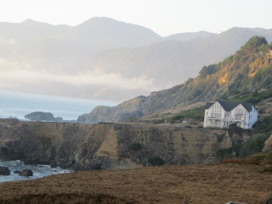 Inn of the Lost Coast: View from 3rd floor balcony