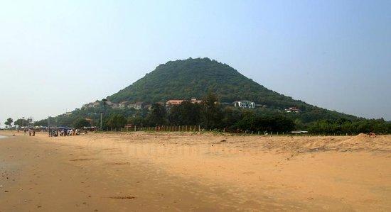 View Of Aptdc Haritha Beach Resort From Rushikonda