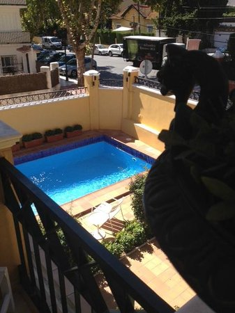 Villa Lorena Malaga: The view from our room