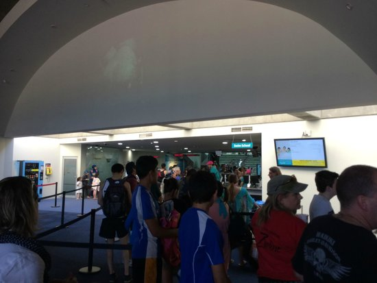 Sydney International Aquatic and Athletic Centres: Entrance-way where you buy tickets