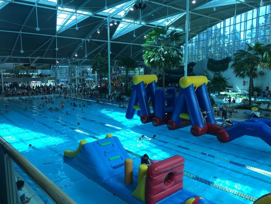 Sydney International Aquatic and Athletic Centres: The kids area