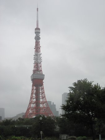 Tokyo Tower from Shiba Park (Again sorry about the poor weather).
